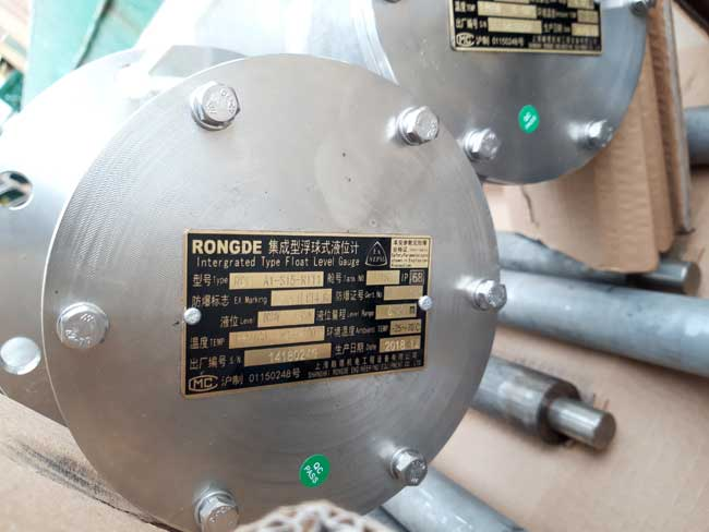 Float sensor box cover, explosion-type, ship standard