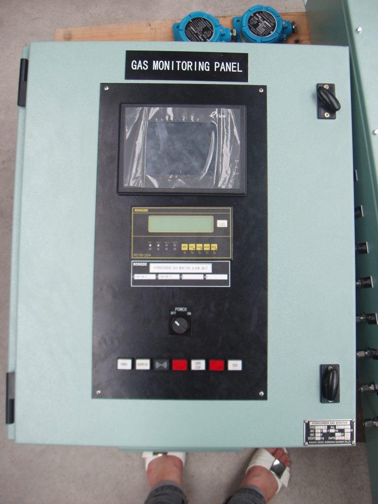Tủ báo khí kiểu bơm hút mẫu Section pump