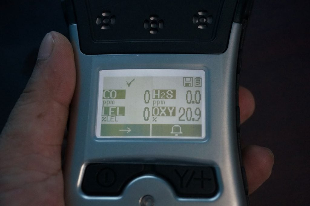 Màn hình Máy đo khí Qrae 3 PGM-2500
