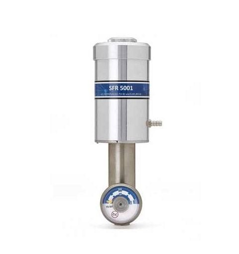 Van xả tự động cho chai khí chuẩn Model Calgaz SFR 5000