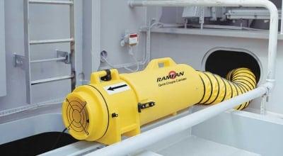 Quạt thổi khí không gian kín Ramfan UB20