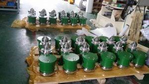 Van thở nhanh (tốc độ cao) cho tàu dầu – PV valve Hàn Quốc