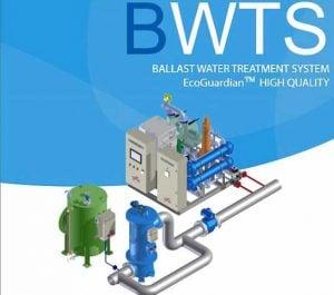 Ballast Water Treatment System – Model: Hanla IMS EcoGuardian