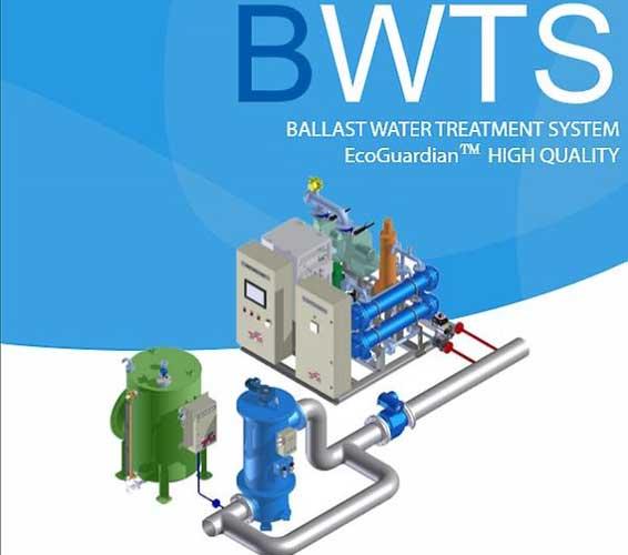 Hệ thống xử lý nước dằn tàu – Model: Hanla IMS EcoGuardian
