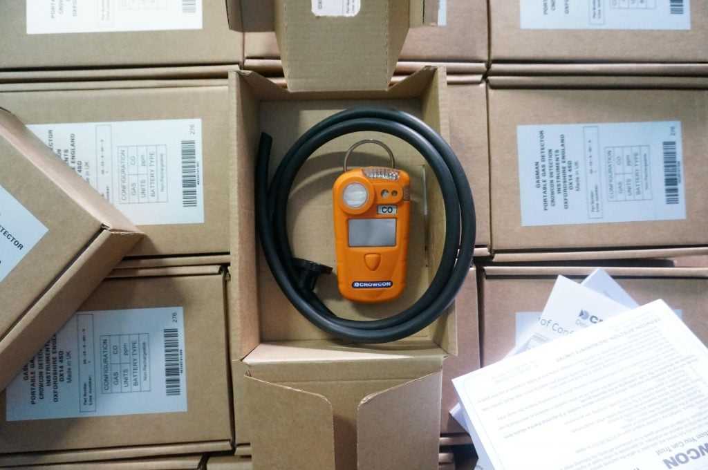 Gasman Single Meter Shipment
