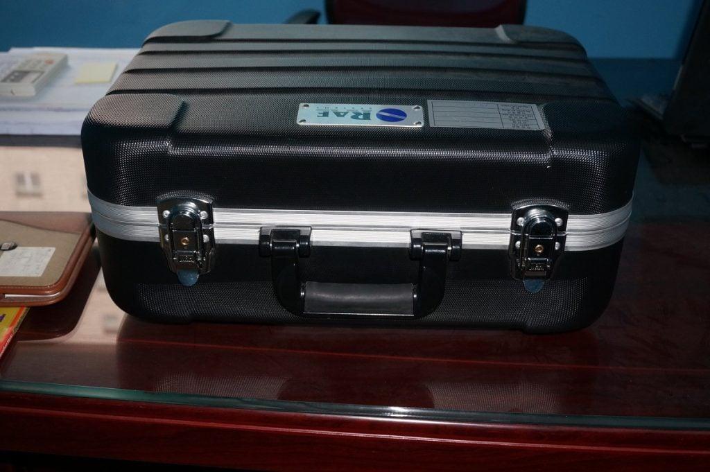 Vali cứng máy đo khí VOC ppbRAE 3000