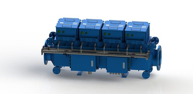 Ballast Water Treatment System Electrolycage Block