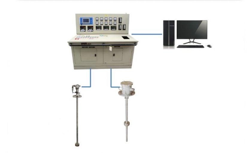 Báo mức, nhiệt độ, áp suất tích hợp cho hầm hàng