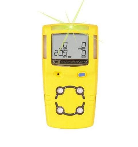 Máy đo khí GasAlertMicroClip X3, LEL/O2/CO/H2S
