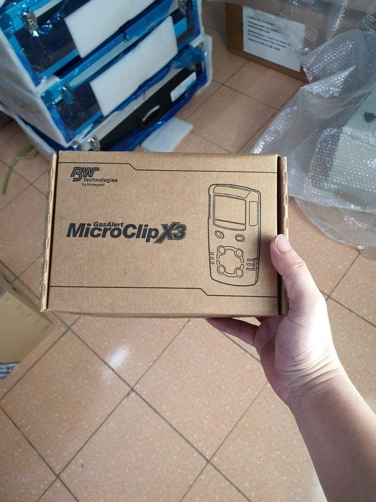 GasAlertMicroClip X3 - Box Machine