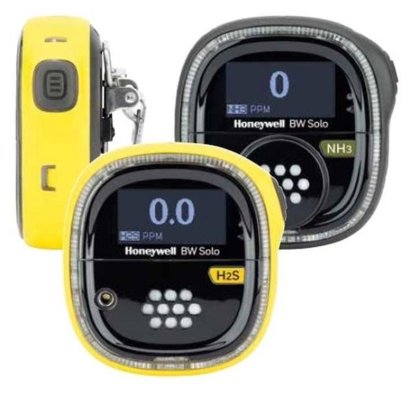 Máy đo đơn khí Honeywell BW  Solo, đo khí độc và khí O2