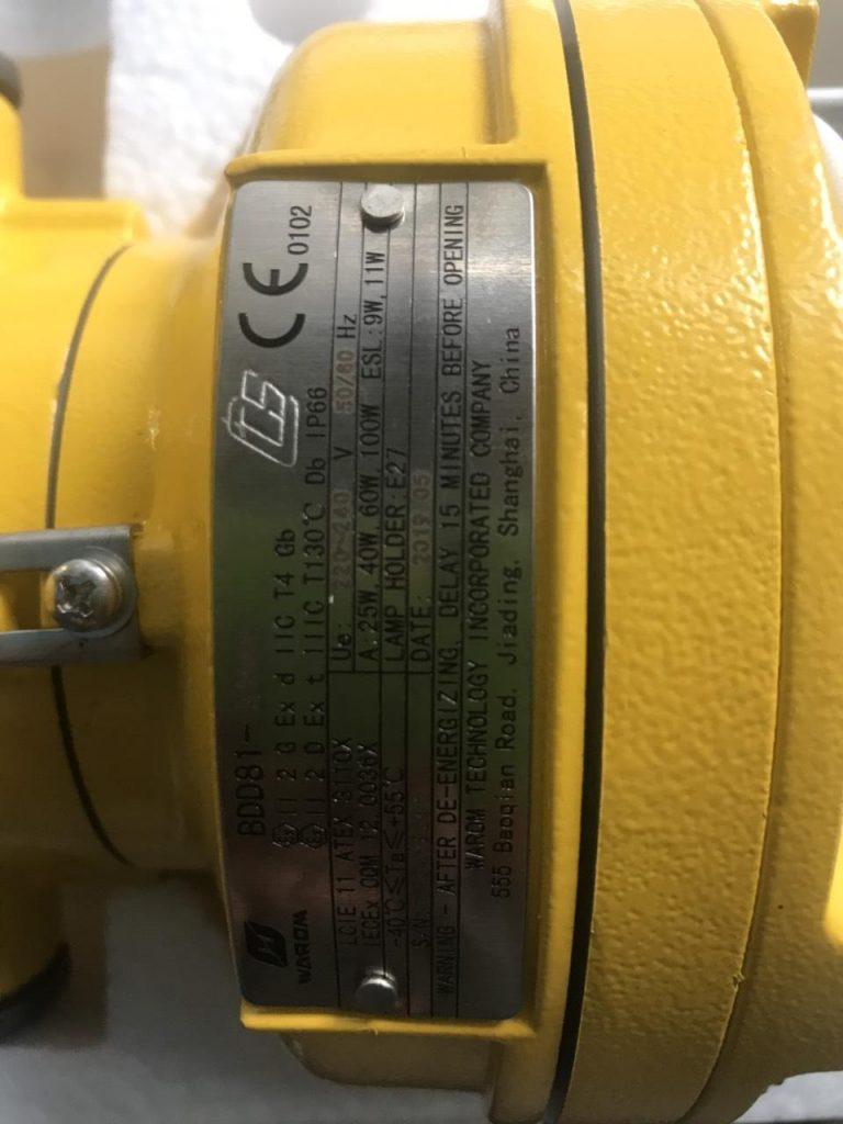 Dấu đăng kiểm CCS dùng cho tàu biển