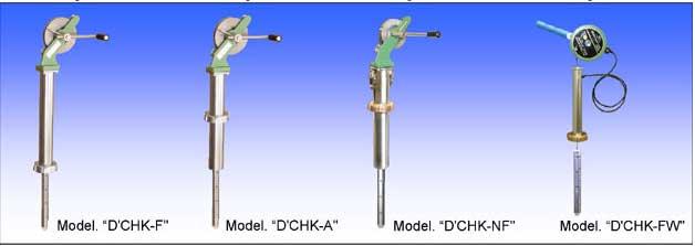 Thước kiểm tra độ khô đáy hầm hàng MMC D-CHK