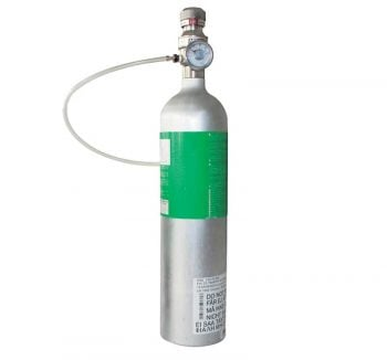 Bình khí chuẩn MSA 58L, 10053022 cho MSA Altair Pro, 2X, 4X, 4XR, 5X