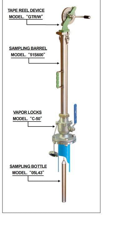 Thước lấy mẫu MMC Model SD-2/W