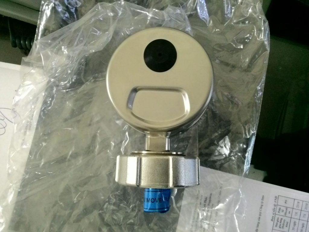 Đồng hồ đo khí trơ hầm hàng Tanktech