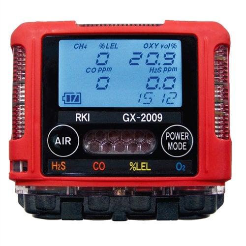 Máy đo khí Riken Keiki RKI GX-2009 đo 4 khí, không bơm