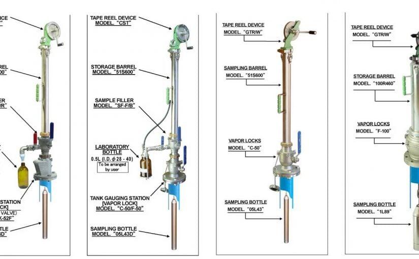 Thước lấy mẫu kín khí MMC (Asia)  cho hầm hàng