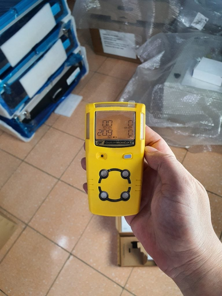 GasAlertMicroClip X3 Gas Meter