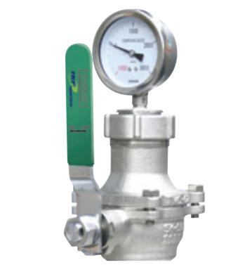 Đồng hồ đo áp suất khí trơ hầm hàng Tanktech T2000-TPG-01