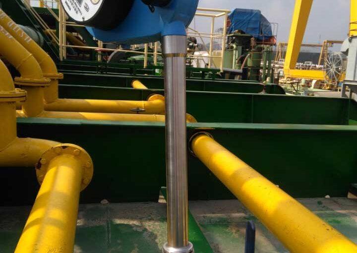 Đo khoảng trống (Ullage) hầm hàng bằng thước đo dầu và giá trị Reading Index