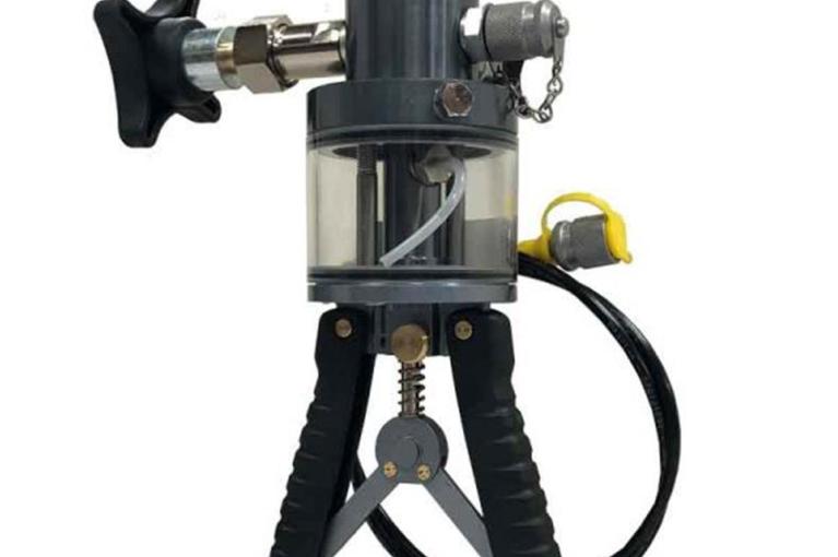 Bơm tay tạo áp thuỷ lực HP-700, dùng dầu thuỷ lực