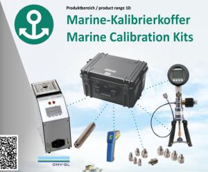 Bộ Kit hiệu chuẩn nhiệt độ, áp lực cho tàu biển LR-Cal Đức