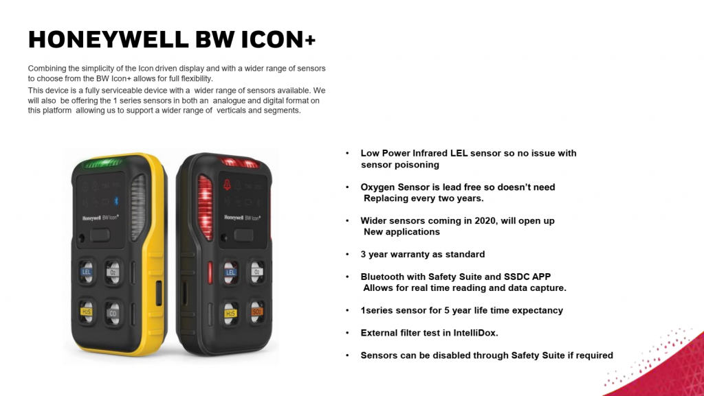 17. BW ICON+ gas detector with more sensors, longer service life