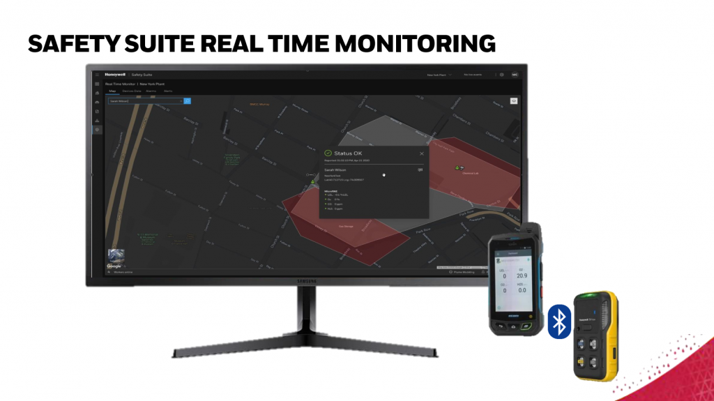 32. Real-time gas safety monitoring with SAFETY SUITE system